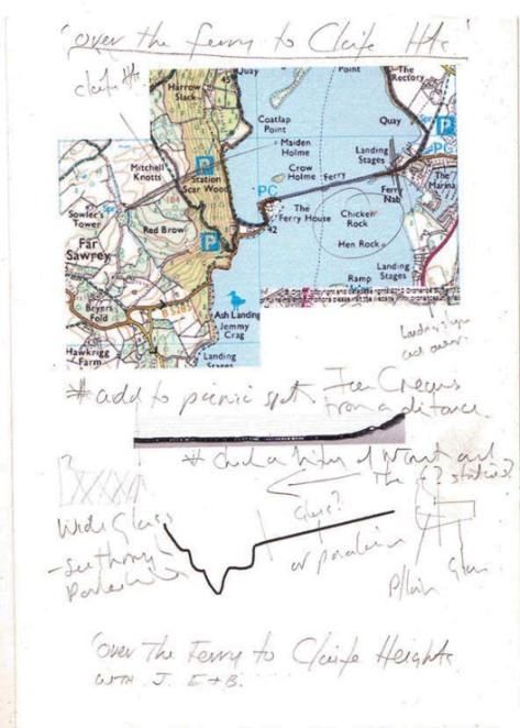 Over the Ferry to Claife Heights Diary 2014